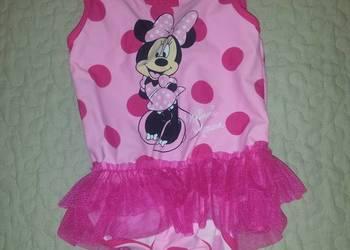 Disney Minnie strój kąpielowy falbanka 4-5 lat 104 / 110