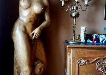Rzeźba akt kobieta rękodzieło