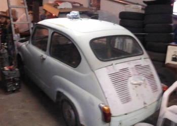 Zastava 750 + Fiat 600 z 1956 roku z dokumentami