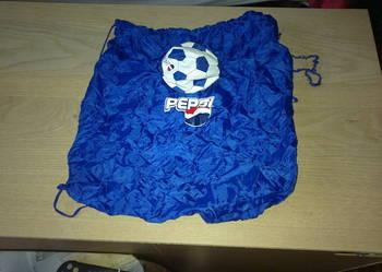 Worek na plecy / worek na buty  z PEPSI  składany w piłkę