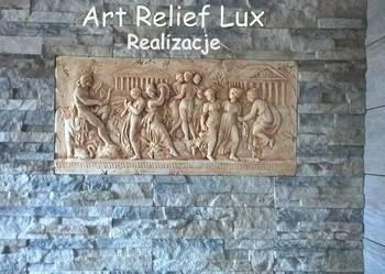 Relief Płaskorzeźba grecka Płaskorzeźby greckie Sztukateria