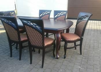 Krzesło tapicerowane ludwikowskie stylowe modne nowoczesne