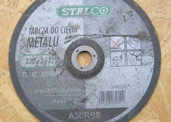 Tarcze do metalu 230 mm