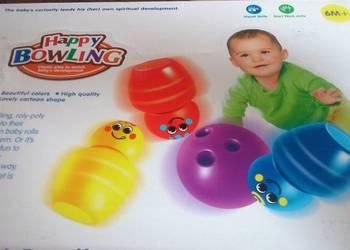 kręgle dla dzieci 10 szt.+ 2 piłki NOWE