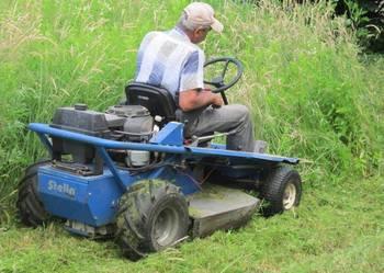Ogrodnik koszenie trawy wykaszanie Jaworze Wisła Ustroń