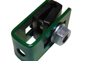 uchwyt końcowy do mocowania panela ocynk+ral komplet