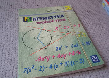 Matematyka wokoł nas cz.2 zbiór zadań - Ewa Duvnjak