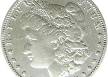 Dolar USA 1880 O Morgan N.Orlean Oryginał SREBRO