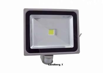 Halogen naświetlacz LAMPA LED 50W Z CZUJNIK RUCHU