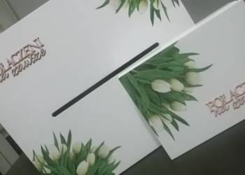 Skrzynka pudełko na koperty ślubne pudełko na obrączki