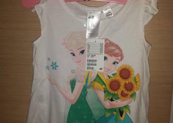Nowy komplet H&M Kraina Lodu, Frozen Elsa 110/116 z metkami