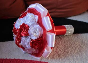 Bukiety ślubne i słodkie ręcznie robione