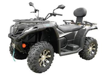 QUAD ATV CF MOTO 520 4x4 + PŁUG KUFER TRANSPORT