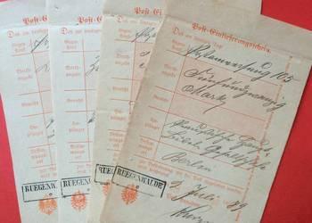 ( 746 ) Dokumenty Niemieckie