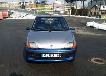 Fiat Seicento 900 2001r el szyby audio alarm