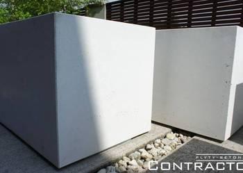 Donica z betonu 50x50x50cm