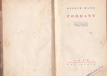 (02338) PODDANY – HENRYK MANN