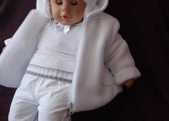 Ubranka do chrztu dla chlopców - komplety zimowe
