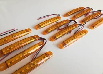 Obrysowe lampy LED 12szt. 12V 10cm