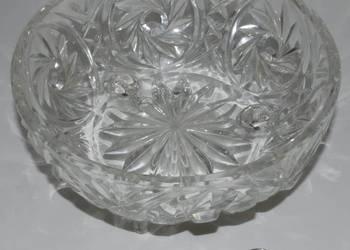 Okrągła Kryształowa Misa na 3 nóżkach (17,5cm) (Kryształ)