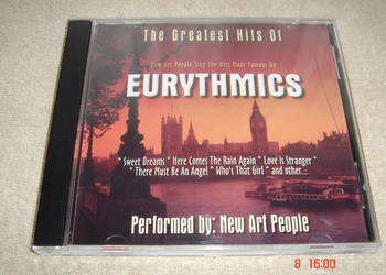 The Greatest Hits of Eurytmics - original CD
