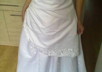 suknia ślubna nowa nie używana rozm 40-42 z dodatkami