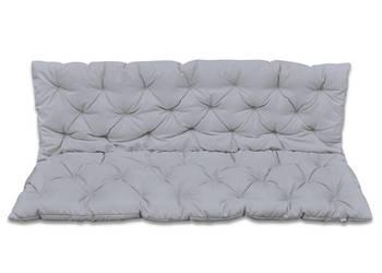 Szara poduszka na huśtawkę ogrodową 150 cm 41472