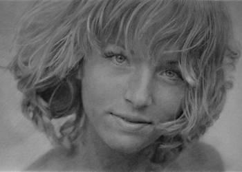 Portret na zamówienie ze zdjęcia ołówkiem Prezent Wrosław