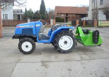 Mini traktorek Iseki Sial 19 4x4  19 KM Kubota Yanmar Mitsub