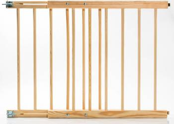 Nowa bramka ochronna zabezpieczająca drewniana na schody na sprzedaż  Skawina