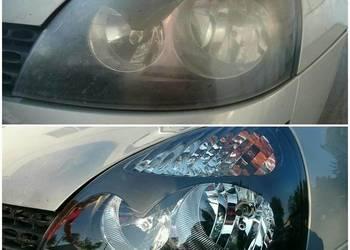 Polerowania renowacja zmatowiałych lamp i reflektorów