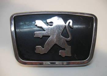 EMBLEMAT znaczek logo Peugeot