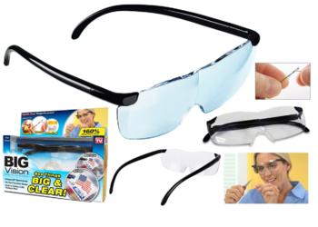 Okulary powiększające BIG VISION 160%