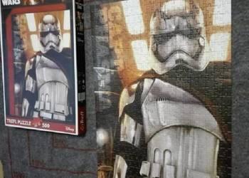 Puzzle Star Wars Gwiezdne Wojny Capt. Phasma 500 KOMPLETNE