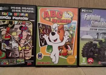 PŁYTY gry dla dzieci 3 sztuki TANIO możliwość wysyłki