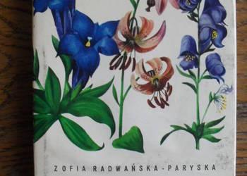 Atlas rośliny tatrzańskie - Z. Radwańska - Paryska