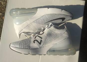 buty Nike Air Max 270 flyknit r.36,5 białe hype 719zł!