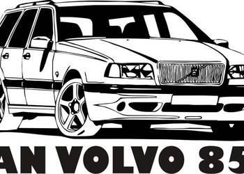 N639-naklejka Volvo 850