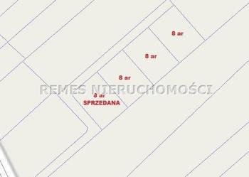 sprzedaż działki budowlanej 800m2 Głogów Małopolski