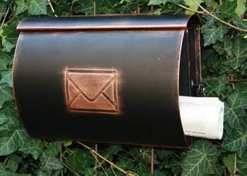 Skrzynka na listy pocztowa metaloplastyka VII