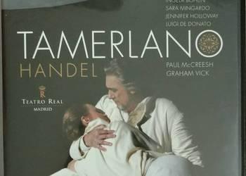 Handel TAMERLANO - McCreesh DOMINGO MINGARDO 3 DVD