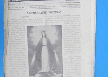 10. Gość Niedzielny - Rok Wydania 1948. - Bezpłatna wysyłka.
