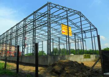 Konstrukcja HALI 15x30m H6m NOWA Hala stalowa