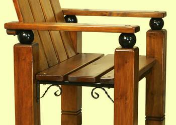 Krzesła ogrodowe drewniane, fotel ogrodowy, meble ogrodowe m
