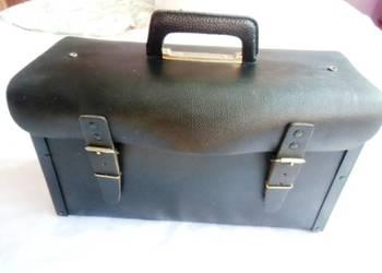 Skórzana torba MONTERSKA Vintage na narzędzia  supr stan