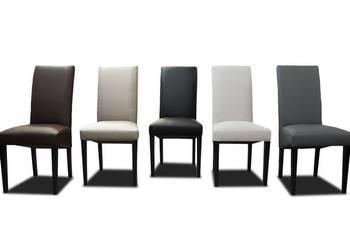 Krzeslo tapicerowane bankietowe eko-skóra