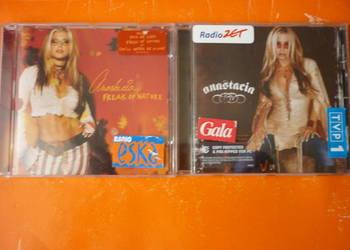 "2 płyty CD Anastacia ""Freak of nature"" i ""Anastacia"""