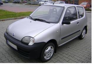 Fiat Seicento 1,1 - Mały przebieg - 95 tyś.km