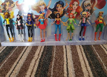 Zestaw super bohaterek DC super heroes girls