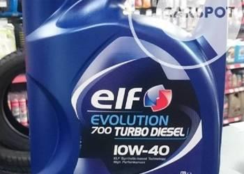 Olej Elf Evolution 700 Turbo Diesel 10w40 5L sprzedam